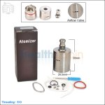New ! Hcigar Cerberus 26650 Rebuildable Dripping Atomizer (Clone)