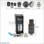 New ! Tobeco Yep Black Rebuildable Dripping Atomizer (Clone)