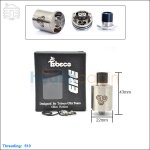 New ! Tobeco Original ERE Stainless Rebuildable Dripping Atomizer