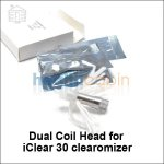5pc Dual coil heads for Innokin iClear 30 Clearomizer Tank