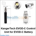 New ! Kangertech EVOD-C Control Unit for EVOD-C battery