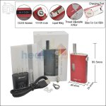 Joyetech Upgraded eGrip 20W VV/VW Cherry Red Kit with OLED Screen