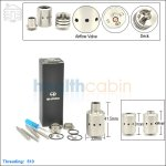 New ! Ehpro Marquis Stainless Steel Rebuildable Dripping Atomizer (Clone)