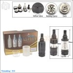 New ! Tobeco Kayfun V4 Black Rebuildable Atomizer (Clone)