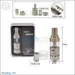 [New product forecasting] Sense Cyclone Stainless Steel Sub Ohm Tank(Accept the Reservation)