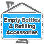Empty Bottles & Refilling Accessories
