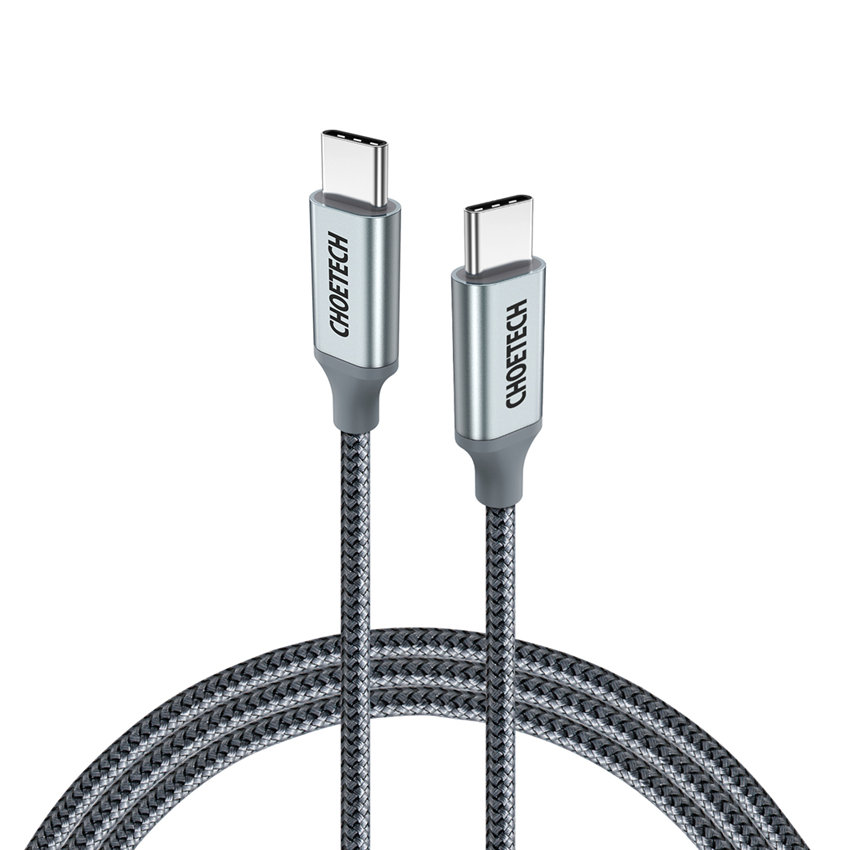 CHOETECH XCC-1002-GY PD100W TYPE-C To TYPE-C Cable(1.8M)