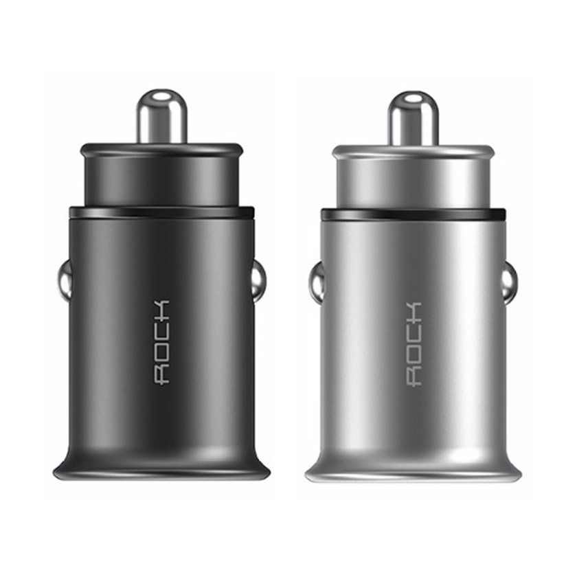 ROCK Metal mini Car charger 4.8A