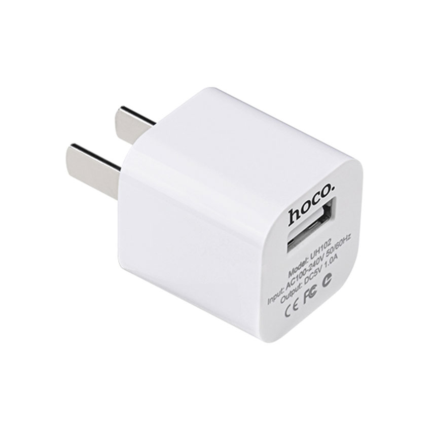 HOCO UH102 Smart Fast Charger For 7/7 Plus/6S/6S Plus/6 Plus/6/SE (2020)/ 11/ 11Pro/11ProMax/XsMax,/XR/ XS/X/8/8 Plus/ AirPods/Ipad/Samsung/LG/HTC/Huawei/Moto/xiao MI and More