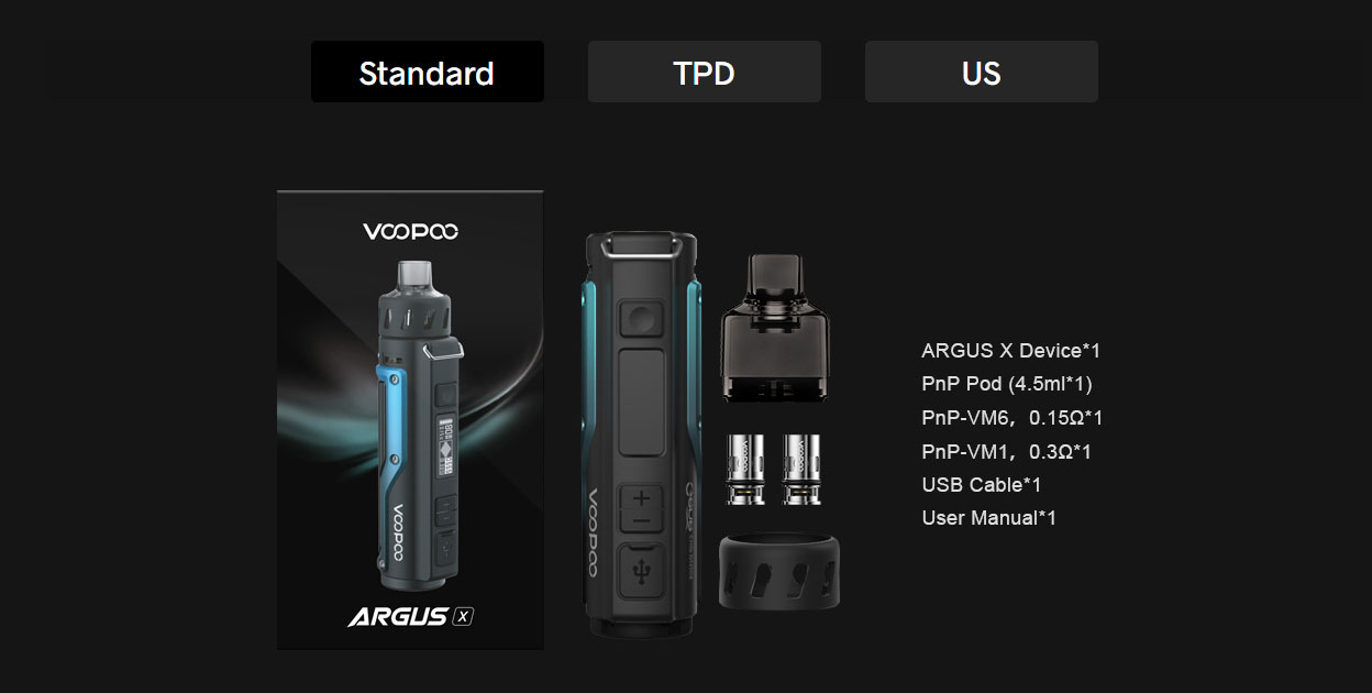 VOOPOO ARGUS X Kit