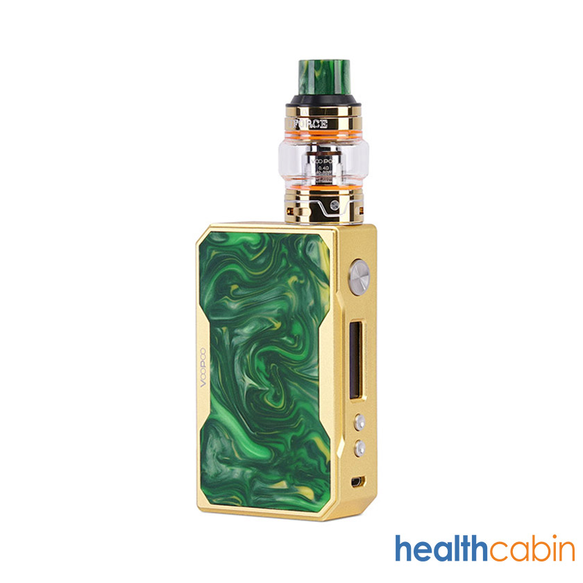 VOOPOO Drag 157W Mod Kit with UFORCE Tank Gold Version