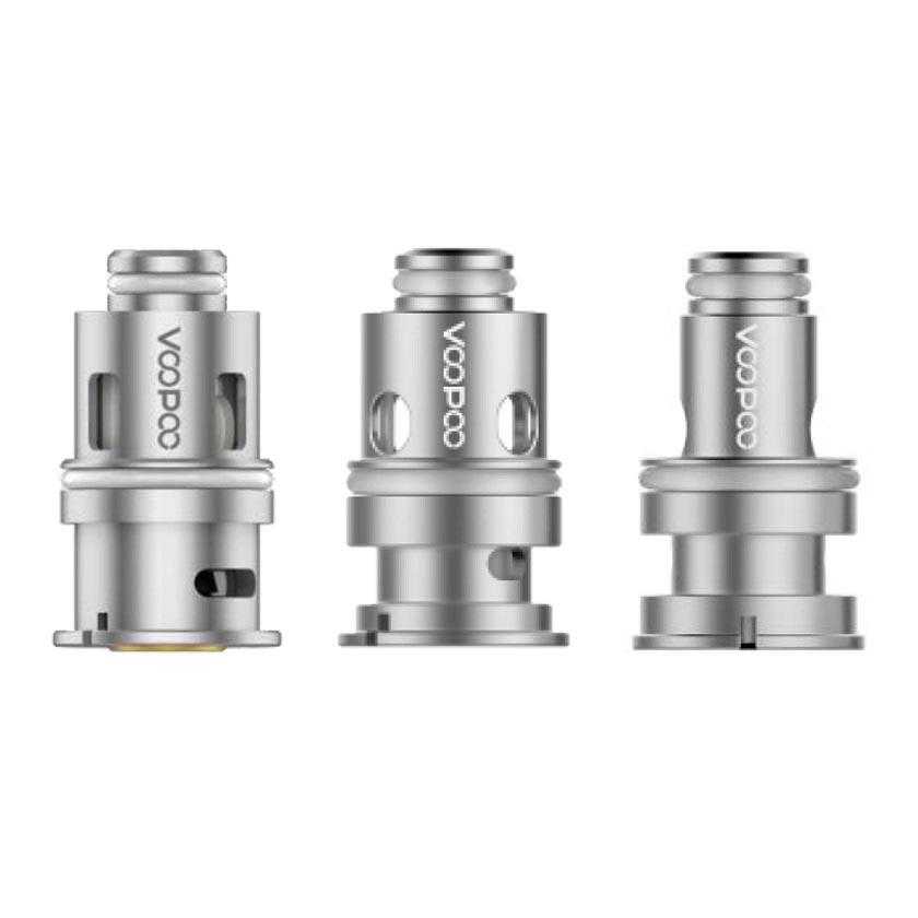Voopoo Replacement Coils (1.2ohm & 0.8ohm & 0.6ohm & 0.3ohm & 0.45ohm & 1.0ohm) for Drag Baby Tank/VINCI Kit/VINCI X Kit/Navi Kit/PnP 20/PnP 22/VINCI AIR Kit (5Pcs/Pack)