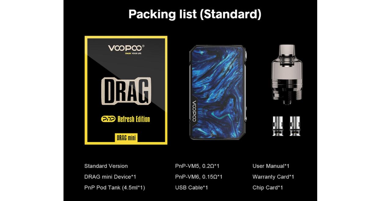 VOOPOO Drag Mini Refresh Kit