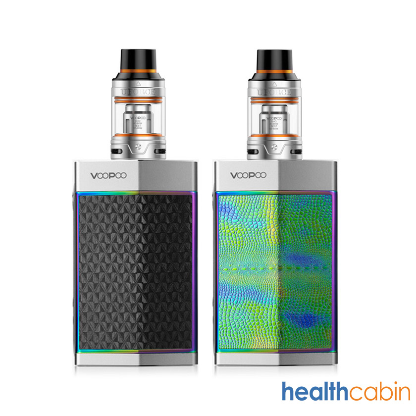 VOOPOO TOO 180W Mod Kit with UFORCE Tank Atomizer Silver Version