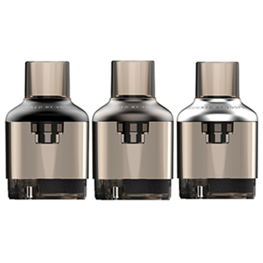Voopoo TPP Empty Pod Cartridge for Drag S Kit,Drag X Kit,Drag 3 Kit,Drag X Plus Kit,Drag Max Kit,Argus X Kit,Argus kit,Argus Pro Kit 5.5ml (2pcs/pack)