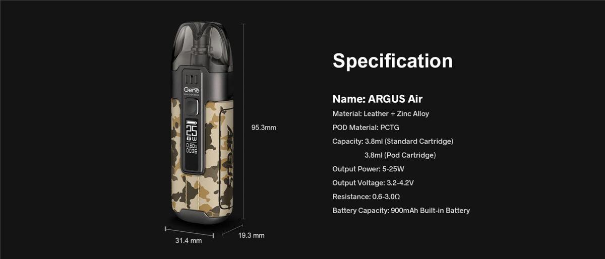 Voopoo Argus Air Pod