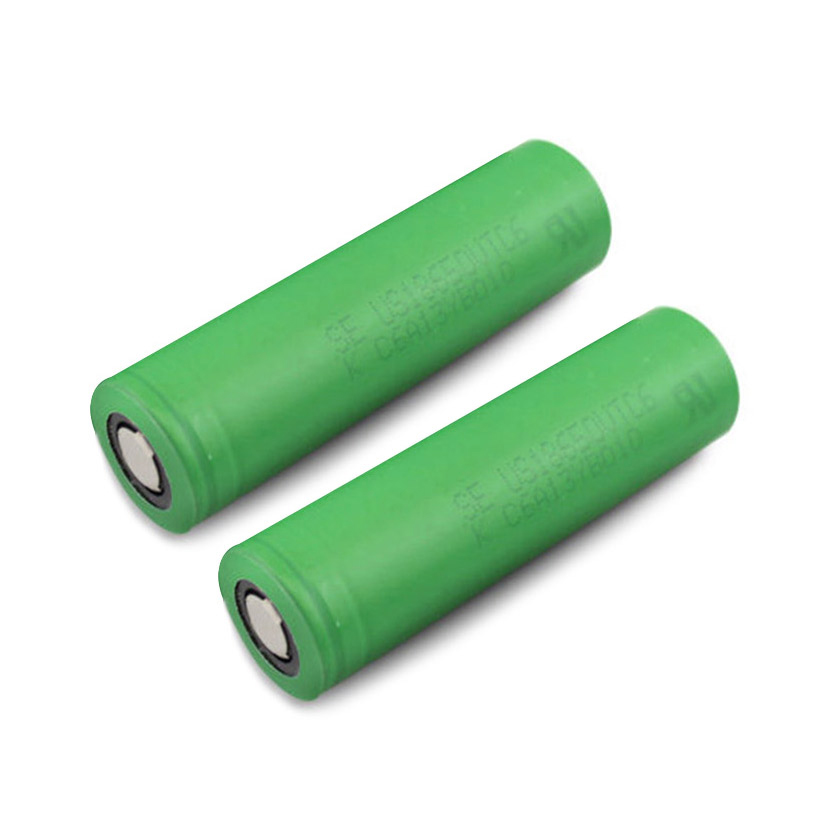 2pcs Sony VTC6 18650 3000mAh 30A Flat Top Li-ion Rechargeable Battery