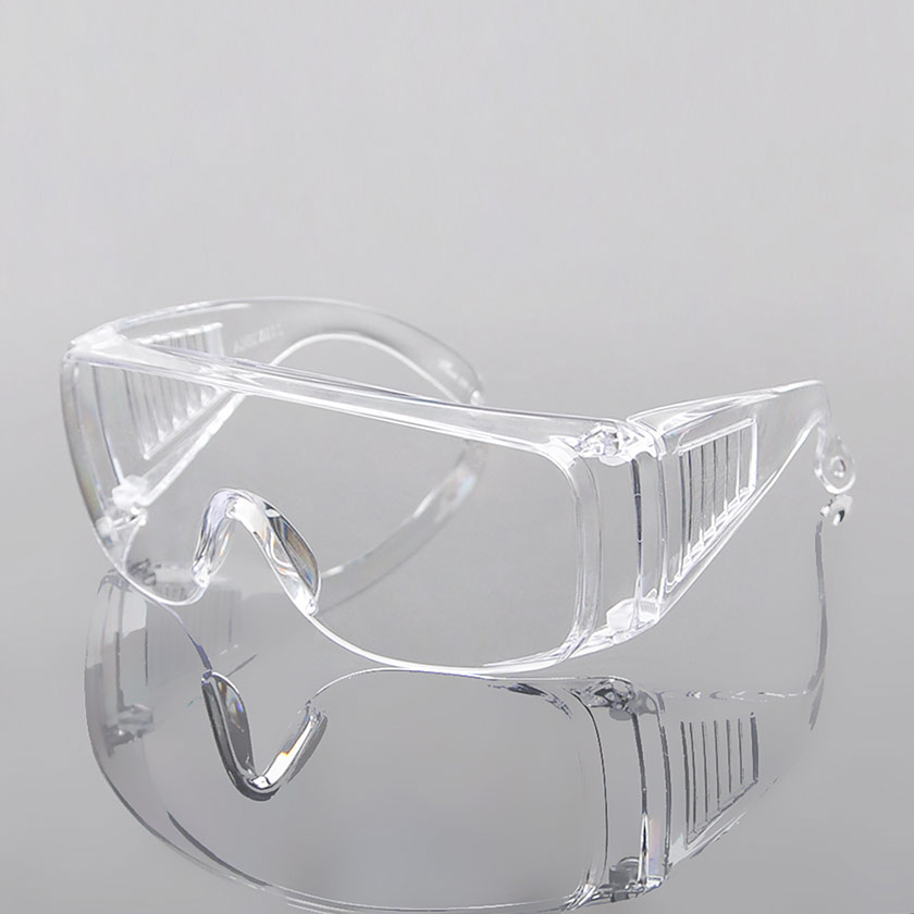 Flexible, Soft, Indirect Vent, Protective Safety Goggle, Clear Body, Uncoated, Clear Lens