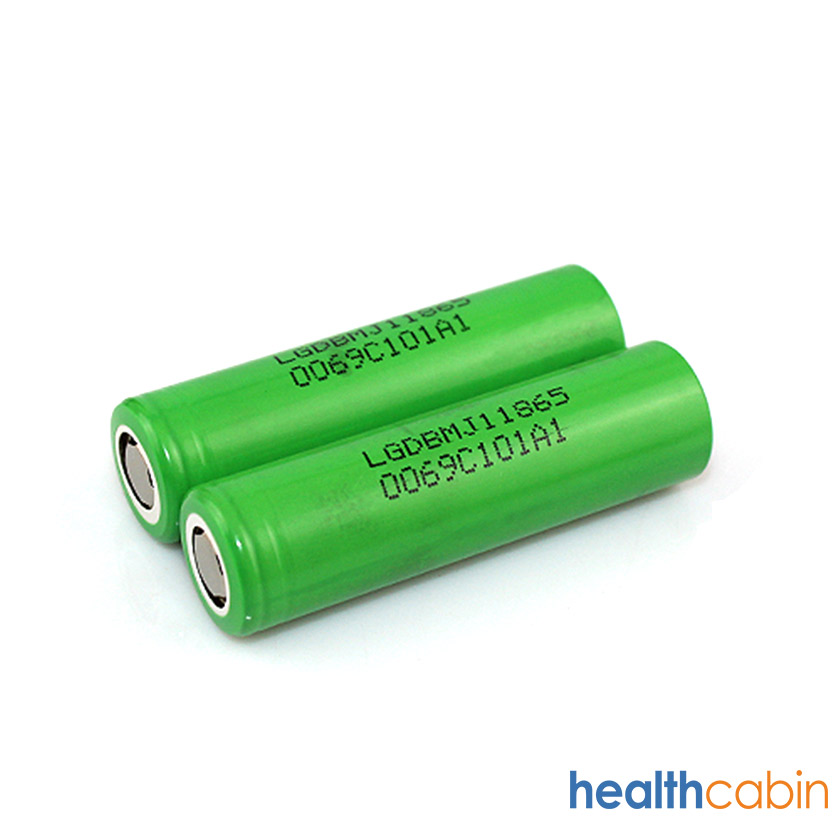 LG MJ1 18650 3500 mAh 10A Flat Top Li ion Rechargeable Battery