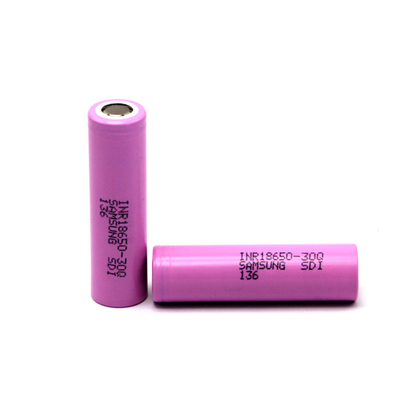 Samsung 18650 30Q 3000mAh 15A Flat Top Li ion Rechargeable Battery