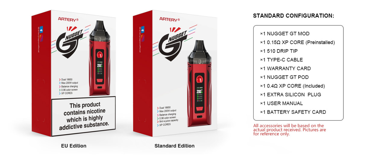 Artery Nugget GT Kit