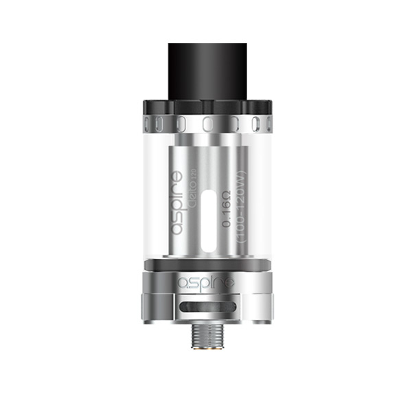 Aspire Cleito 120 Stainless Tank Atomizer Kit 4ml