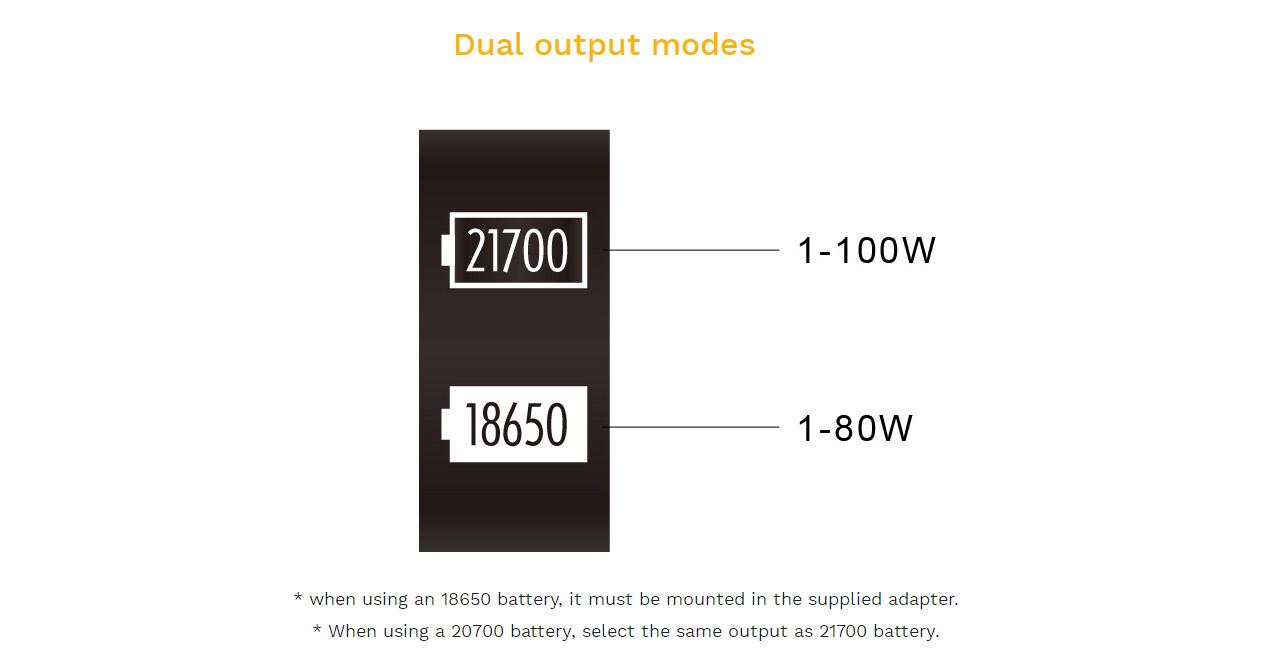 Aspire Puxos 80W Mod Kit