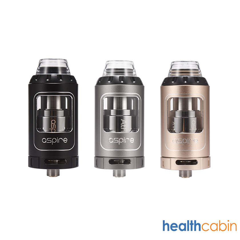 Aspire Athos Tank Atomizer 4ml Black & Gold & Grey