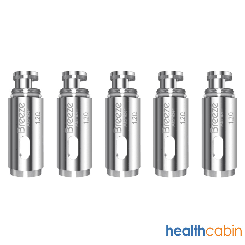 5pc replacement Coils 1.2ohm for Aspire Breeze 2, Breeze starter kit