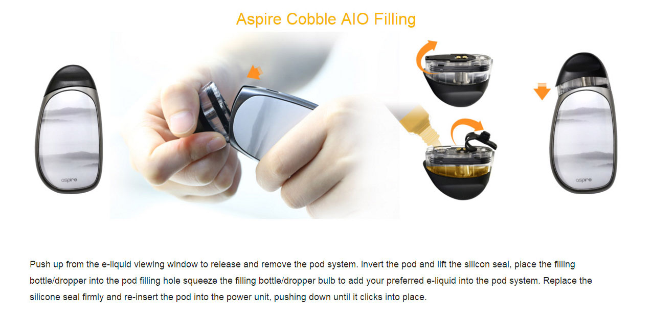 Aspire Cobble Starter Kit
