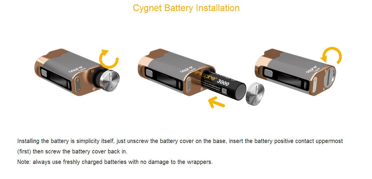 Aspire Cygnet 80W Box Mod