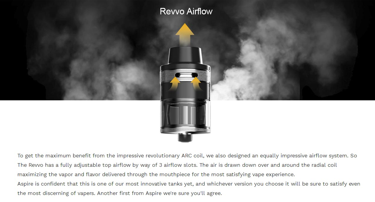 Aspire Revvo Tank 3.6ml