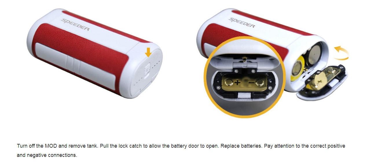 Aspire Speeder 200W Box Mod