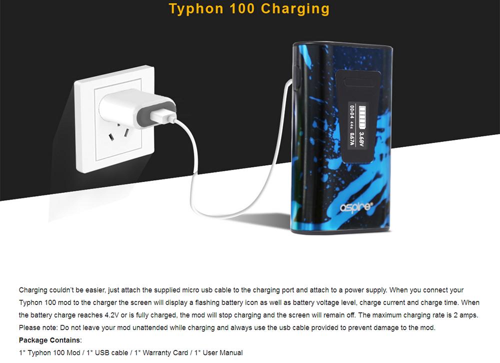 Aspire Typhon 100 Revvo Mod