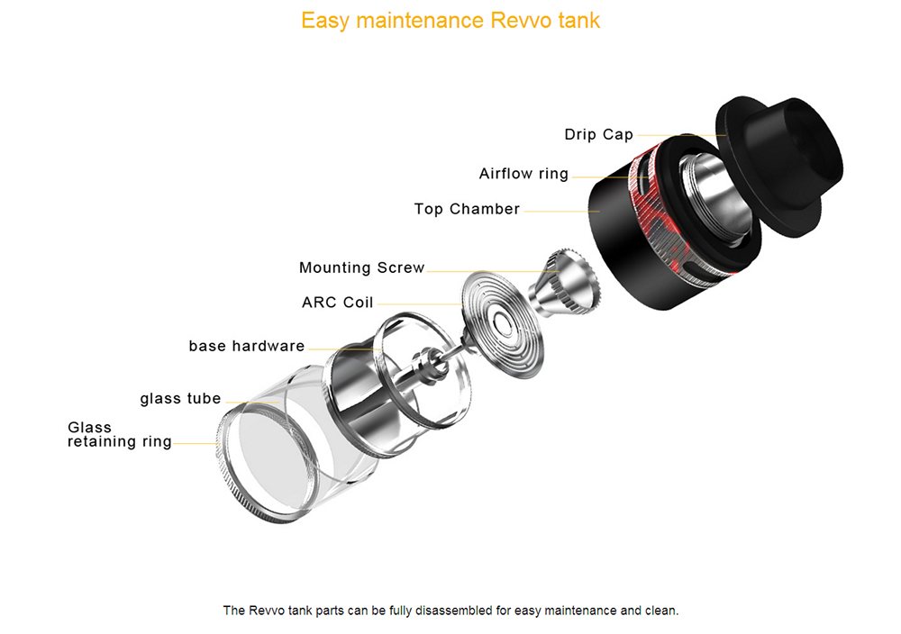 Aspire Typhon 100 Revvo Mod Kit