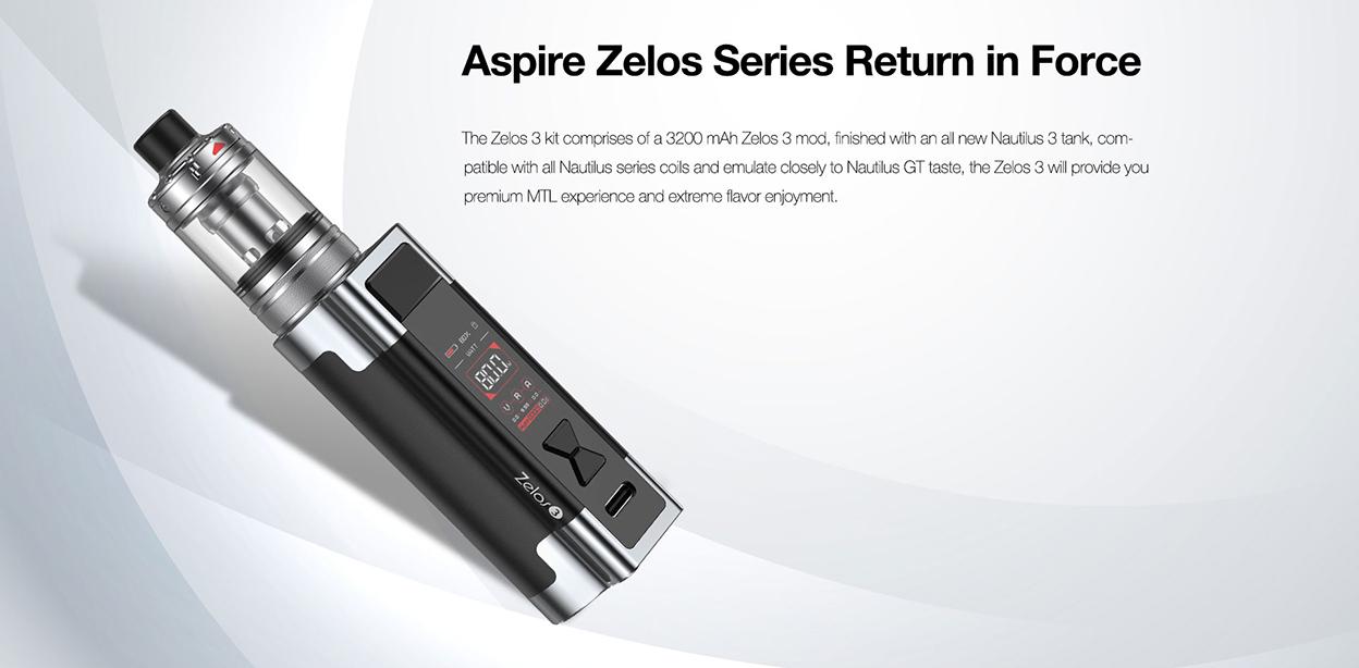 Aspire Zelos 3 kit
