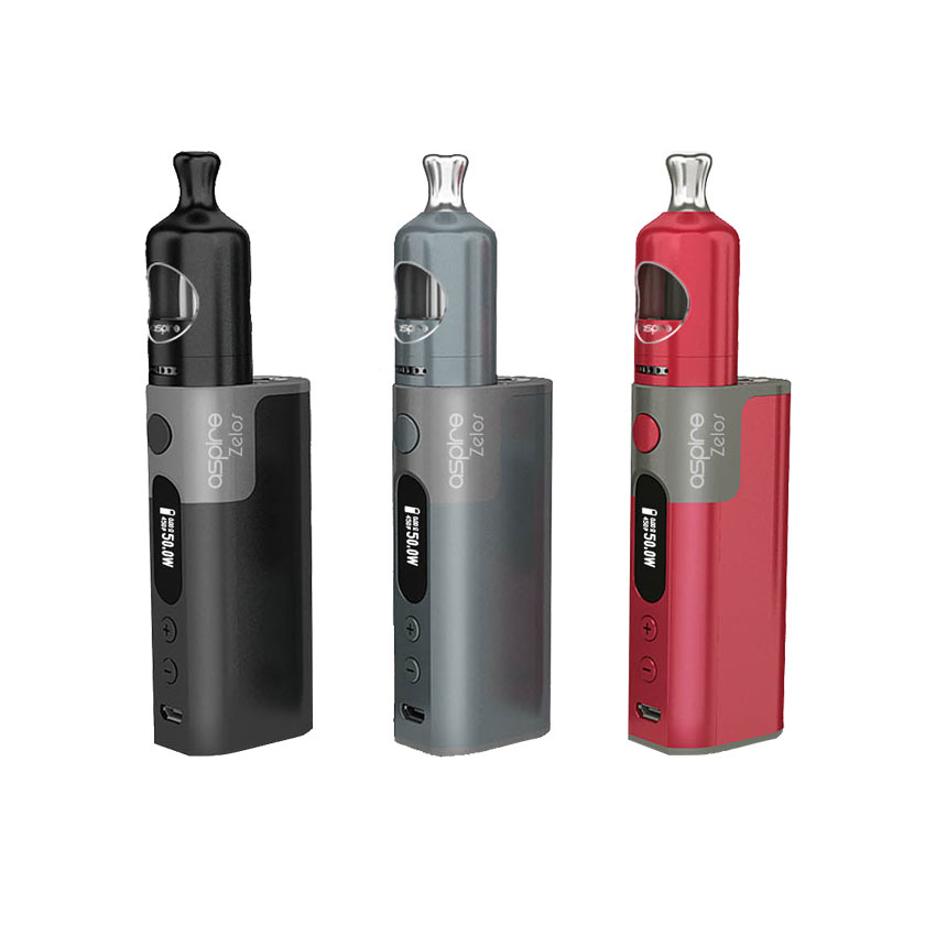 Aspire Zelos 50W 2500mAh Kit with 2ml Nautilus 2 Tank