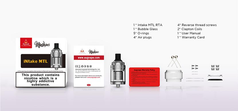 Augvape Intake MTL RTA