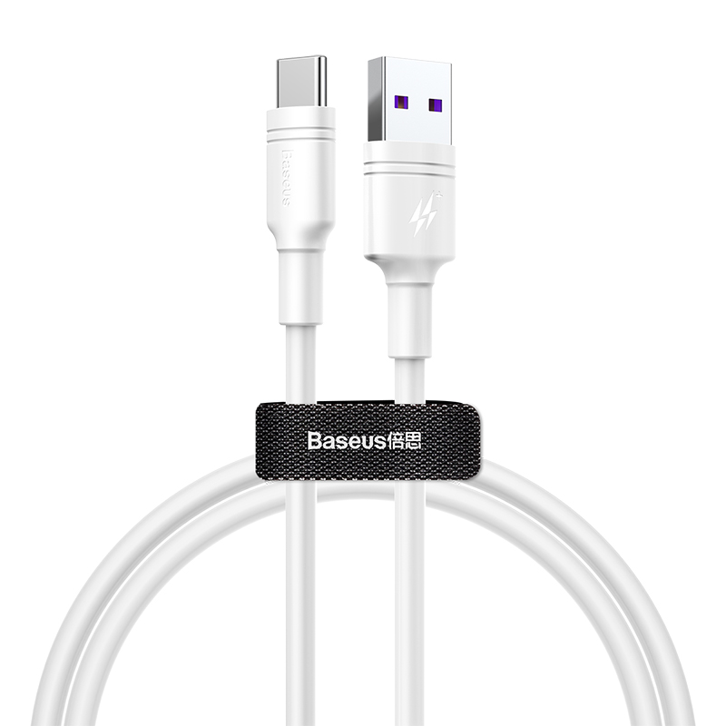 Baseus Dual-Loop HW Fast Charging Type-C 5A (L=1M) Data Cable