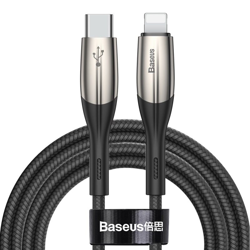 Baseus Horizontal Line Series Flash Charging Data Type-C To Lightning PD 18W (L=2M) Cable