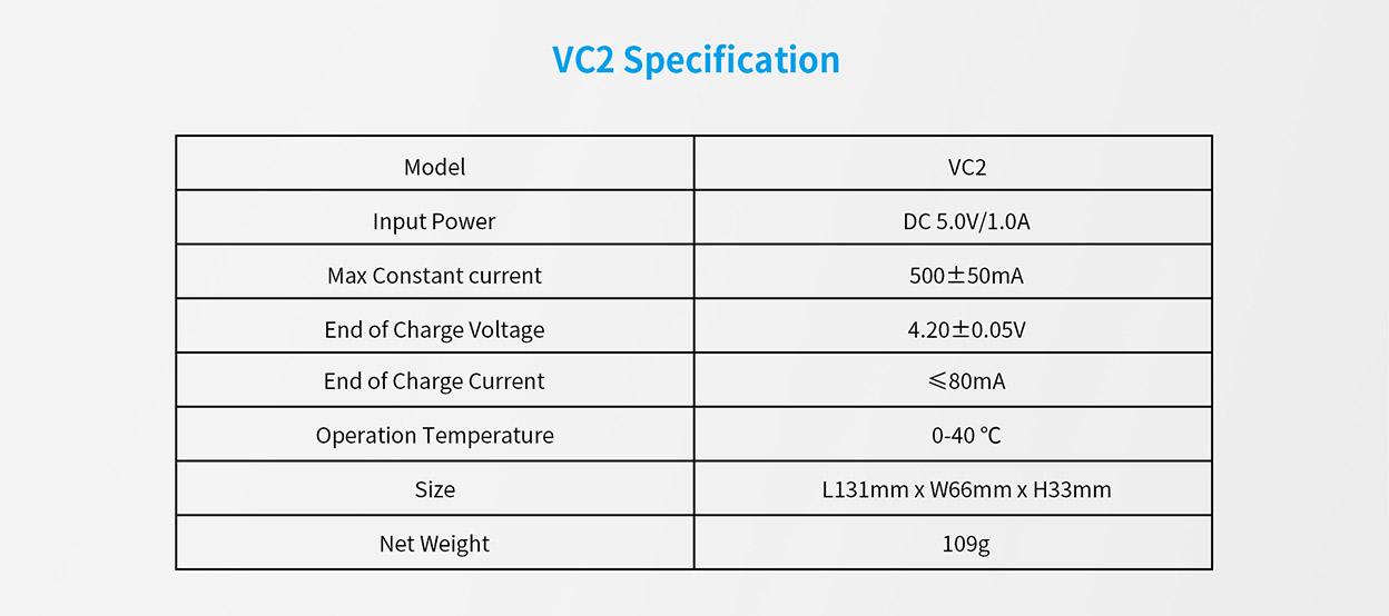 XTAR VC2 Charger