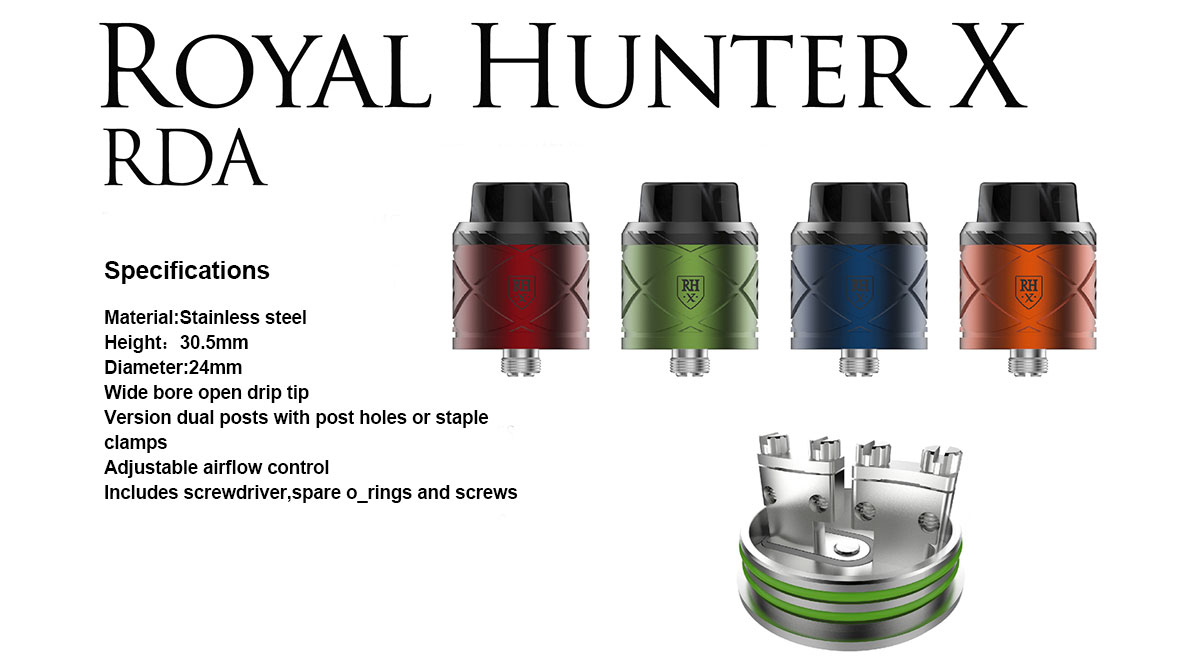 COV Royal Hunter X RDA Black - $14.85