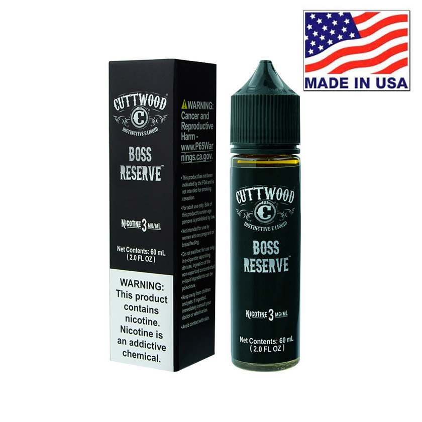 30ml Cuttwood Boss Reserve E-Liquid