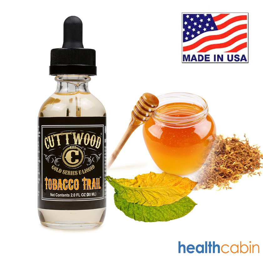 30ml Cuttwood Tobacco Trail E-Liquid