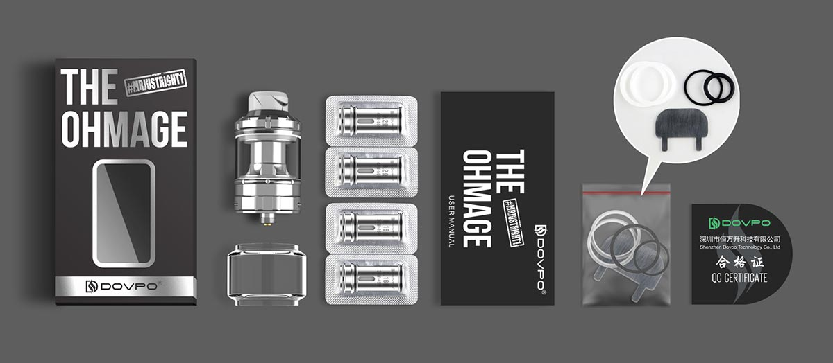 Dovpo The Ohmage Sub Ohm Tank Atomizer