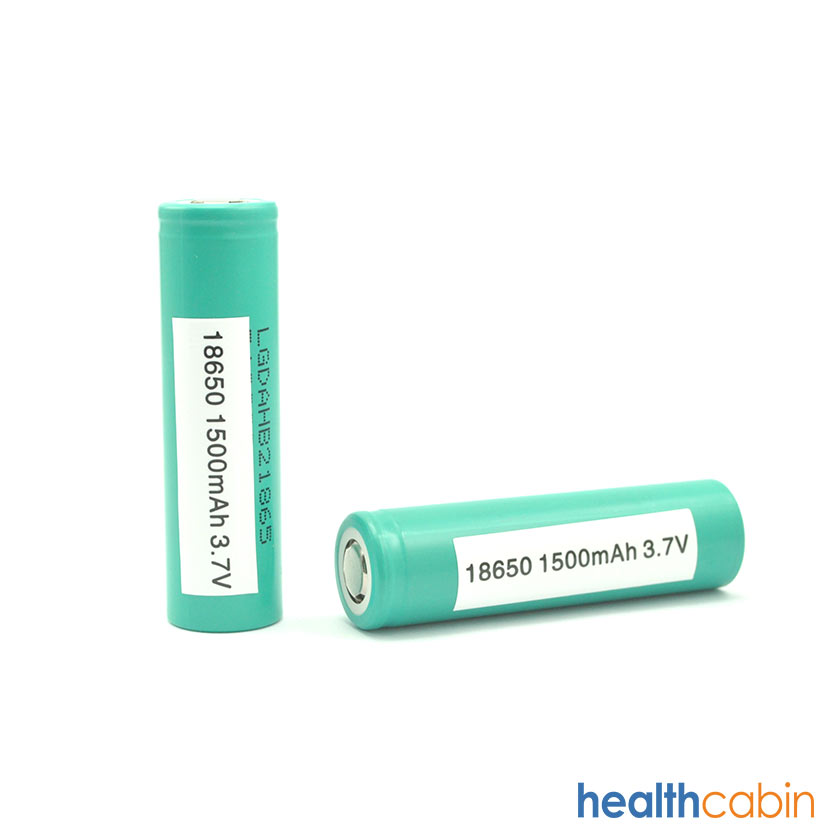 LG HB2 18650 1500mAh 30A Flat Top Li ion Rechargeable Battery (Please contact our sales for special shipping arrangement)