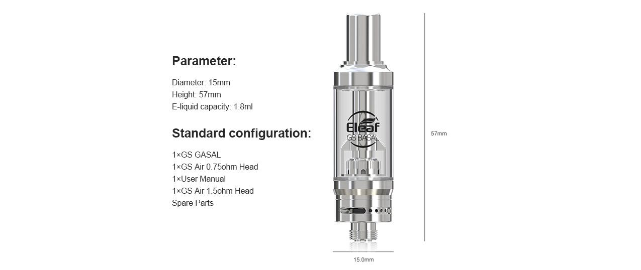 Eleaf GS BASAL Tank
