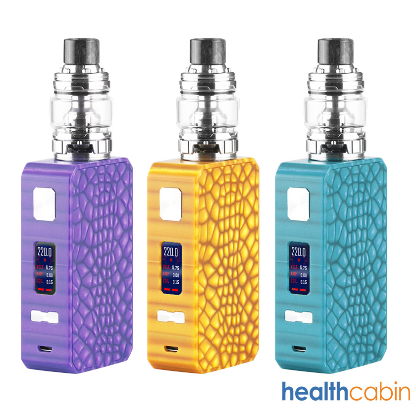 Eleaf Saurobox Mod Kit with ELLO Duro Tank Atomizer 6.5ml