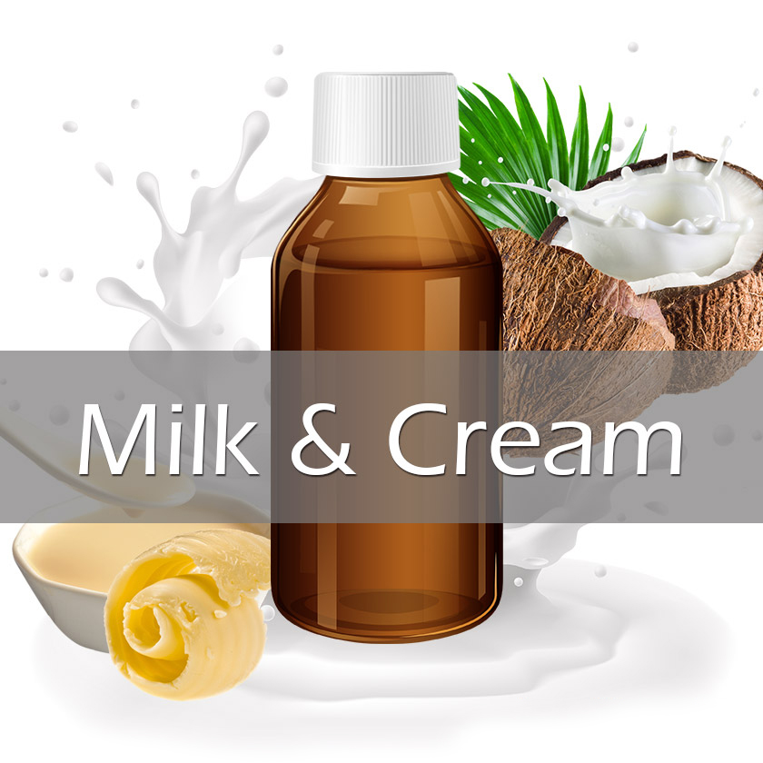 100ml Vapelf Milk & Creams Concentrated Flavors