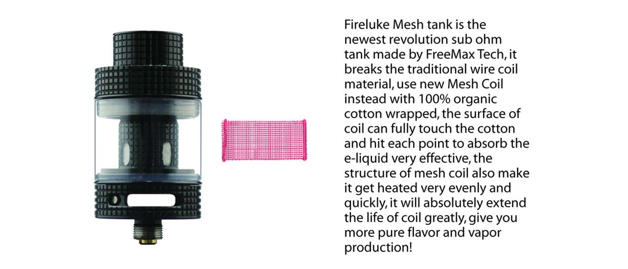 FreeMax Fireluke Mesh Tank